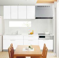 人造大理石のキッチン